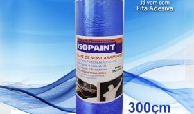 FILME DE MASCARAMENTO ISOPAINT 300CM X 20METROS